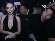 Làng sao - Tóc Tiên và Hoàng Touliver né tránh chụp hình chung
