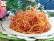 Bếp Eva - Mứt cà rốt sợi vừa ngon lại dễ làm