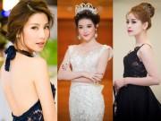 Sao Việt mặc thiết kế trong nước đẹp không kém hàng hiệu