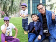 Làm mẹ - Điểm trùng hợp ngỡ ngàng của các cặp bố con sao Việt
