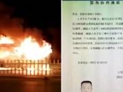 Tin tức - Cháy xe bus TQ khiến 14 người thiệt mạng, 32 người bị thương