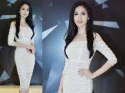 Thời trang - Hoa hậu Đông nam Á Thu Vũ khoe dáng đồng hồ cát