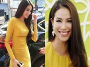 Làng sao - Hoa hậu Phạm Hương kín đáo vẫn hút mọi ánh nhìn