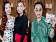 Dàn cựu thí sinh The Voice đến chúc mừng Đinh Hương