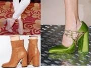 Thời trang - Hà Hồ dẫn đầu xu hướng giày đế loe đình đám thế giới