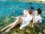 Làng sao - Vợ chồng Vân Trang khoe ảnh cưới đẹp như mơ