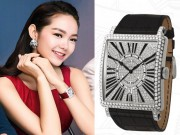 Thời trang - Minh Hằng đeo đồng hồ tiền tỷ sau sự cố mất trộm