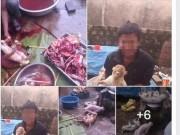 Tin tức - Triệu tập thanh niên tung ảnh giết khỉ lên Facebook