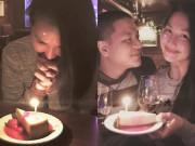 Làng sao - Kim Hiền đón sinh nhật ấm áp bên chồng con