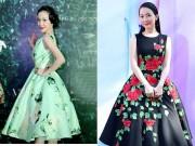 """Thời trang - Mặc váy xòe phồng không bị """"nuốt dáng"""" như Linh Nga"""