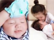 Làng sao - Elly Trần công bố ảnh cận mặt con trai Alfie