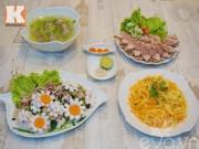 Bếp Eva - 4 món ngon cho bữa cơm chiều hấp dẫn