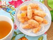 Bếp Eva - Lạ miệng với mứt khoai lang kén lăn dừa