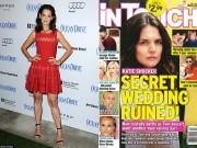 Làng sao - Katie Holmes lộ nhẫn kim cương rộ tin đính hôn với tình mới