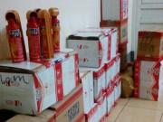 Tin tức - Thu giữ hơn 300 bình cứu hỏa Trung Quốc nhập lậu