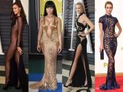 20 chiếc váy khiến sao quốc tế gợi cảm nhất năm 2015