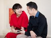 Vợ chồng Khánh Linh tình tứ tại sự kiện