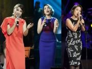 Thời trang - Mỹ Linh duyên dáng với 6 trang phục trong đêm nhạc