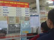 Bến xe Miền Đông bán hết 400 vé xe Tết ngày đầu mở bán
