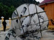 Vật thể lạ hình cầu rơi xuống miền núi Quảng Nam