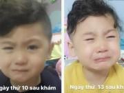 Làm mẹ - Nhìn con khóc, mẹ Việt kịp thời phát hiện ra bệnh nguy hiểm