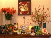 Nhà đẹp - Vị trí đặt bàn thờ: Trái không bề bộn, phải cấm điện