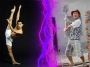 Clip Eva - Sự kết hợp ấn tượng giữa thợ xây và vũ công