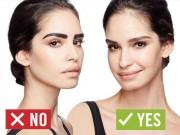 Làm đẹp - 4 lỗi trang điểm lông mày cơ bản và cách sửa