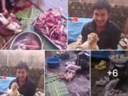Tin tức - Thanh niên khoe giết khỉ bị điều tra vì nuôi nhốt chim cắt
