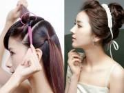Làm đẹp - Hướng dẫn tạo kiểu tóc bằng những phụ kiện đơn giản