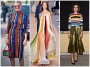 Thời trang - Thời trang cầu vồng: Xu hướng đáng thử nhất xuân hè 2016