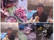 Tin tức - Không phạt được người tung ảnh giết khỉ dã man lên Facebook