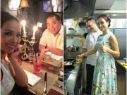 Làng sao - Thúy Hạnh nấu cho chồng ngay giữa quán ăn