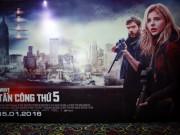 Lịch chiếu phim rạp tại TP.HCM từ 15/1-21/1: Đợt tấn công thứ 5
