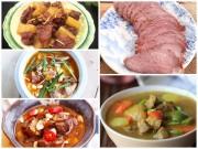 Bếp Eva - 5 món bò nóng hổi thổi bay lạnh giá