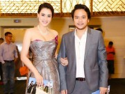 Làng sao - Chồng đại gia tháp tùng Trang Nhung đi sự kiện trước đám cưới
