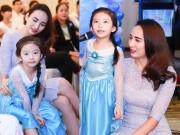 HH Ngọc Diễm lần đầu đưa con gái đi sự kiện