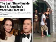 """Làng sao - Rộ tin Brangelina lục đục vì Angelina Jolie """"ngoại tình"""""""