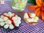 Bếp Eva - Cách muối dưa hành giòn ngon