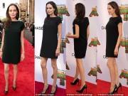 Làng sao - Angelina Jolie xuất hiện với dáng vẻ