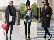 Thời trang - 9 cách mới lạ để diện skinny trong năm mới