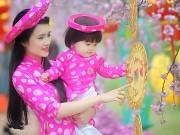 Làm mẹ - Em gái Công Vinh khoe con gái xinh như thiên thần ngày Tết