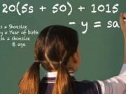 Bài toán 'huyền bí': Từ cỡ giầy tính ra số tuổi