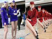 """101 quy tắc thời trang """"kì lạ"""" của tiếp viên hàng không"""