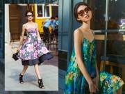 Thùy Dương gợi ý chọn váy đầm du xuân tươi mới