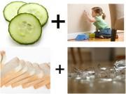 Nhà đẹp - 13 thực phẩm trong bếp tẩy sạch vết bẩn trong nhà