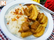Bếp Eva - Xôi thịt hấp dẫn cho bữa sáng