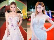 Thời trang - Hương Tràm, Trương Quỳnh Anh đọ vai trần nuột nà