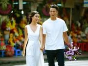 Thời trang - Cặp đôi siêu mẫu khoe ảnh cưới lãng mạn