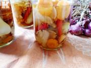 Bếp Eva - Cách muối dưa hành thập cẩm giải ngán ngày Tết